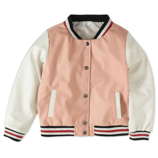 Girls' Varsity Jacket Just $5! Down From $15!