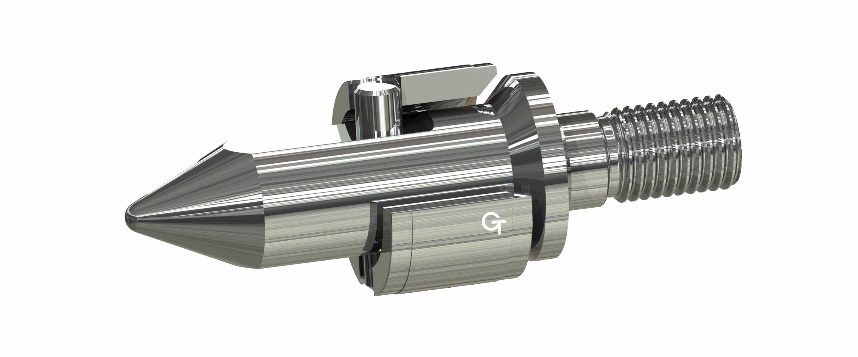 Die Lawson-Rückstromsperre hat einen großen Durchflussquerschnitt, für schnelles Dosieren, mit verriegeltem Sperr-Ring.