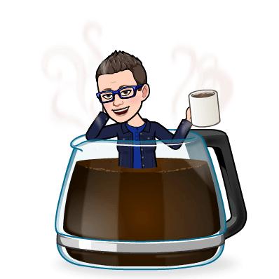 Koffie en een broodkorst