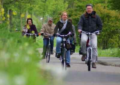 Guided cycling tour Leiden
