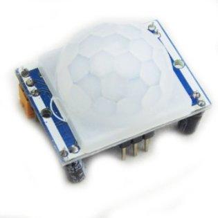 Rörelsesensorn som kommer aktivera skärmen vi rörelse.