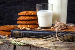 nuts wheat milk