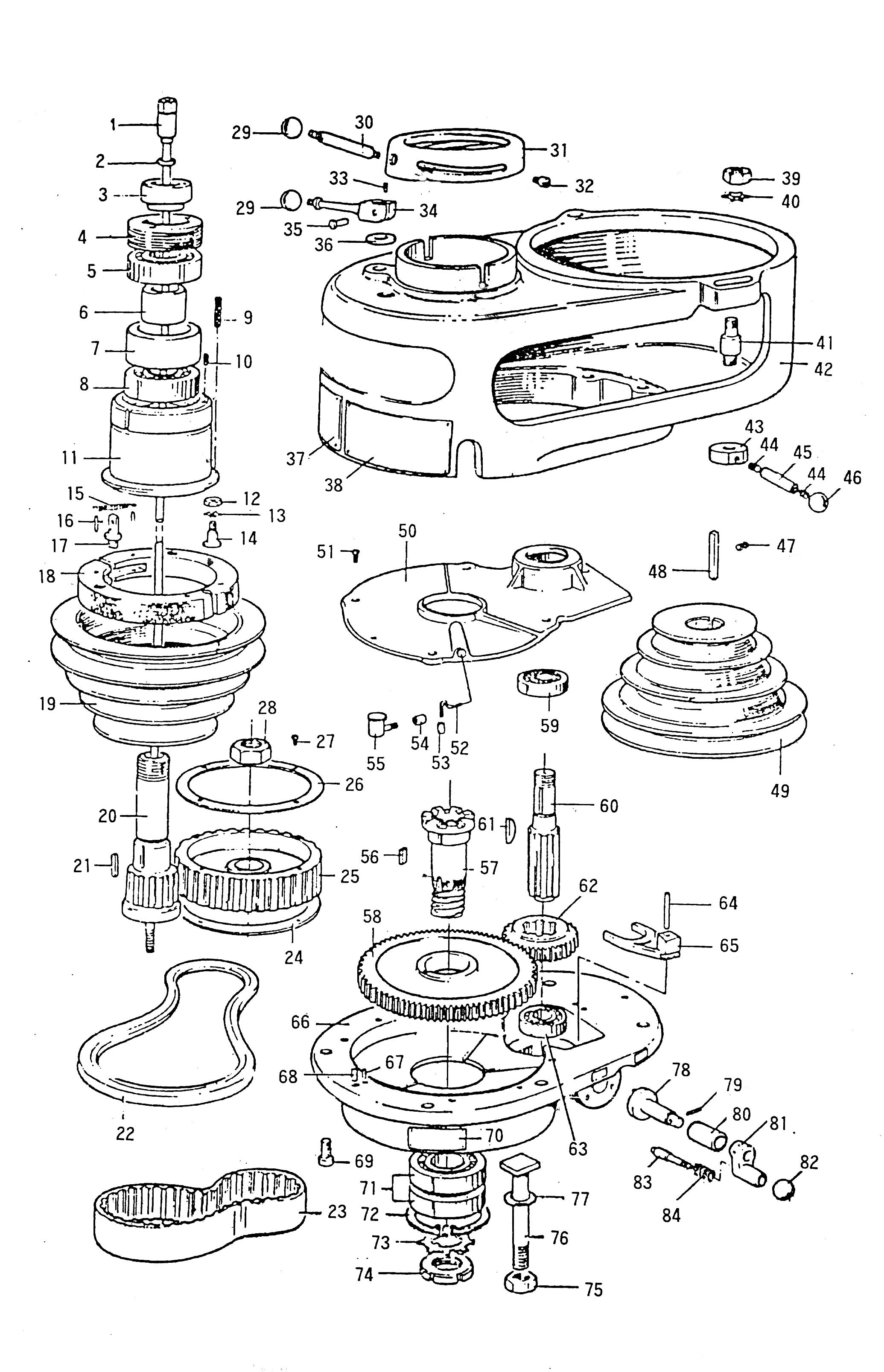 Mh A004 A011 Bearing Sleeve Lock Nut