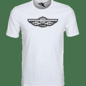 T-Shirt HARLEY DAVIDSON V-ROD CLUB WHITE