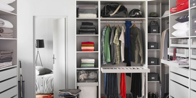 3 Ways To Create A Closet With (Almost) No Space