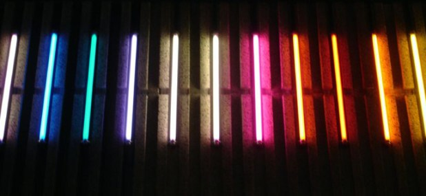 fluorescent lights