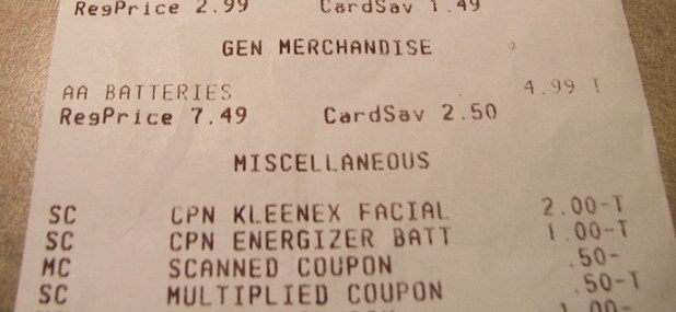 product receipt