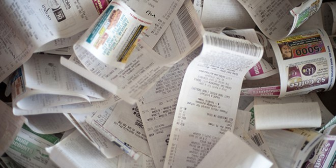 Unclutter Now: Receipts