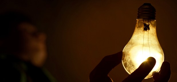 dusty lightbulb