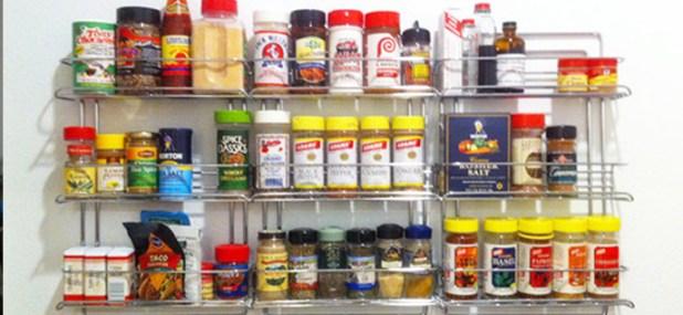 organize it all chrome rack