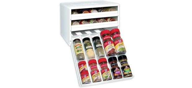 youcopia spicestack bottle cabinet organizer