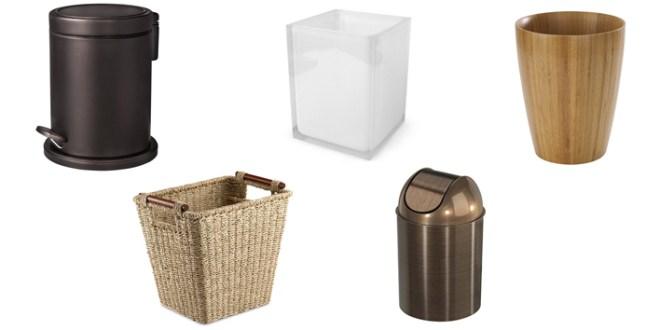 7 Bathroom Wastebaskets