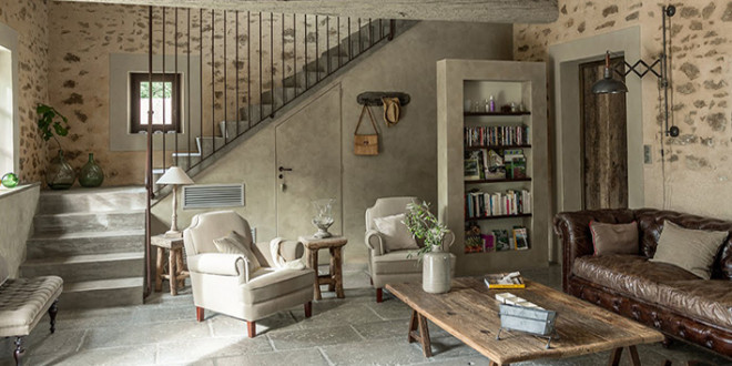 Country Inspired Living Rooms
