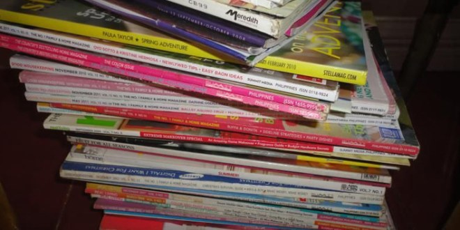 Unclutter Now: Magazines & Articles