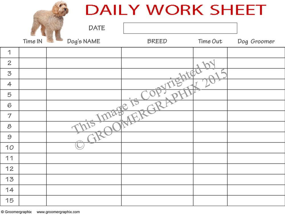 Daily Worksheet Download