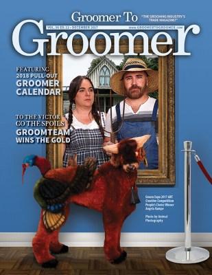 December 2017 Cover Groomer to Groomer