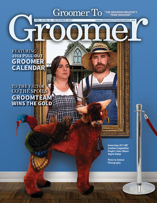 December 2017 Cover Groomer to Groomer