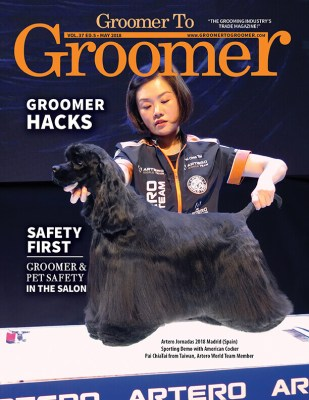 May 2018 Cover Groomer to Groomer