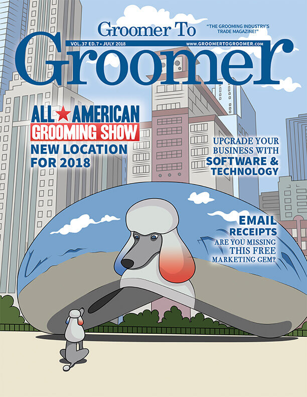 July 2018 Groomer to Groomer Issue