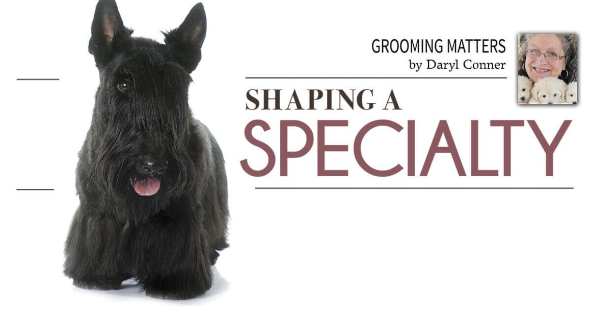 Shaping a Speciality
