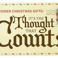 Customer Christmas Gifts: It's the Thought That Counts