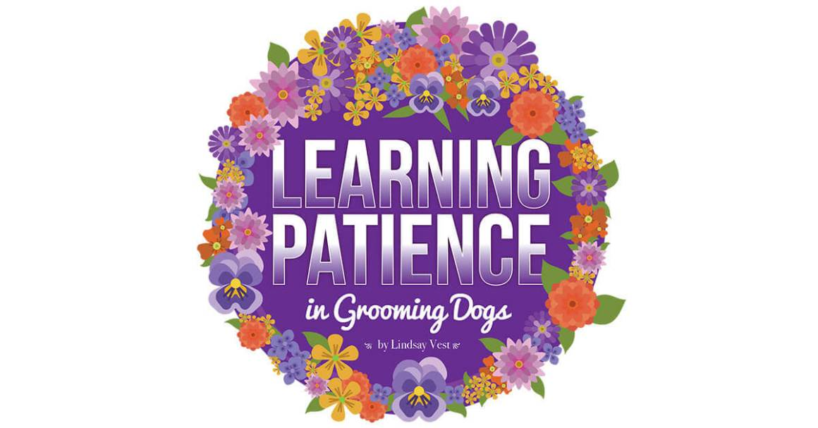 Learning Patience in Grooming Dogs