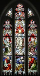 The West Window made by Meyer of Munich.