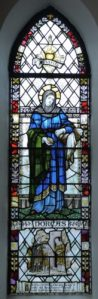 The Dorcas Window, made by Whitefriars of London