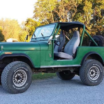 1986 Jeep CJ7 Base Sport Utility 2-Door 4.2L