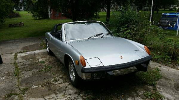 1973 Porsche 914 – $6800 (Saginaw)