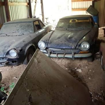 Fiats 1978 and 1981 – Barn Find (Brooklyn, MI)