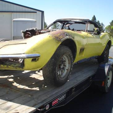 1969 Corvette Convertible – $4500 (Flint)