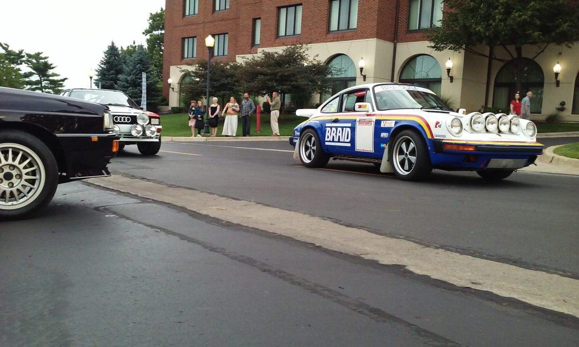 rally Porsche 911