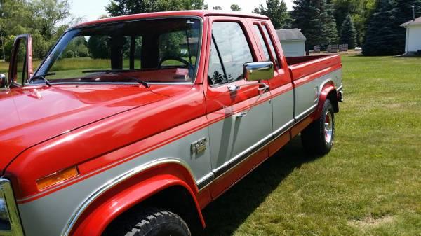 Ford F250 4x4 Supercab Diesel