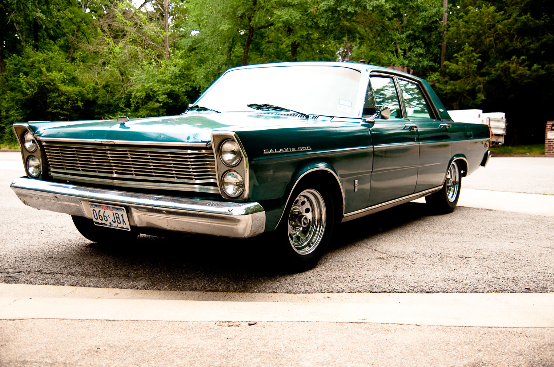 1965 Ford Galaxie 500 Purchased By Teen From Used Car Lot   Classic     Seven years later  the 1965 Ford Galaxie 500 was sitting on a used car lot  where it was spotted by 17 year old Shelton Riggins  The teenager had  200
