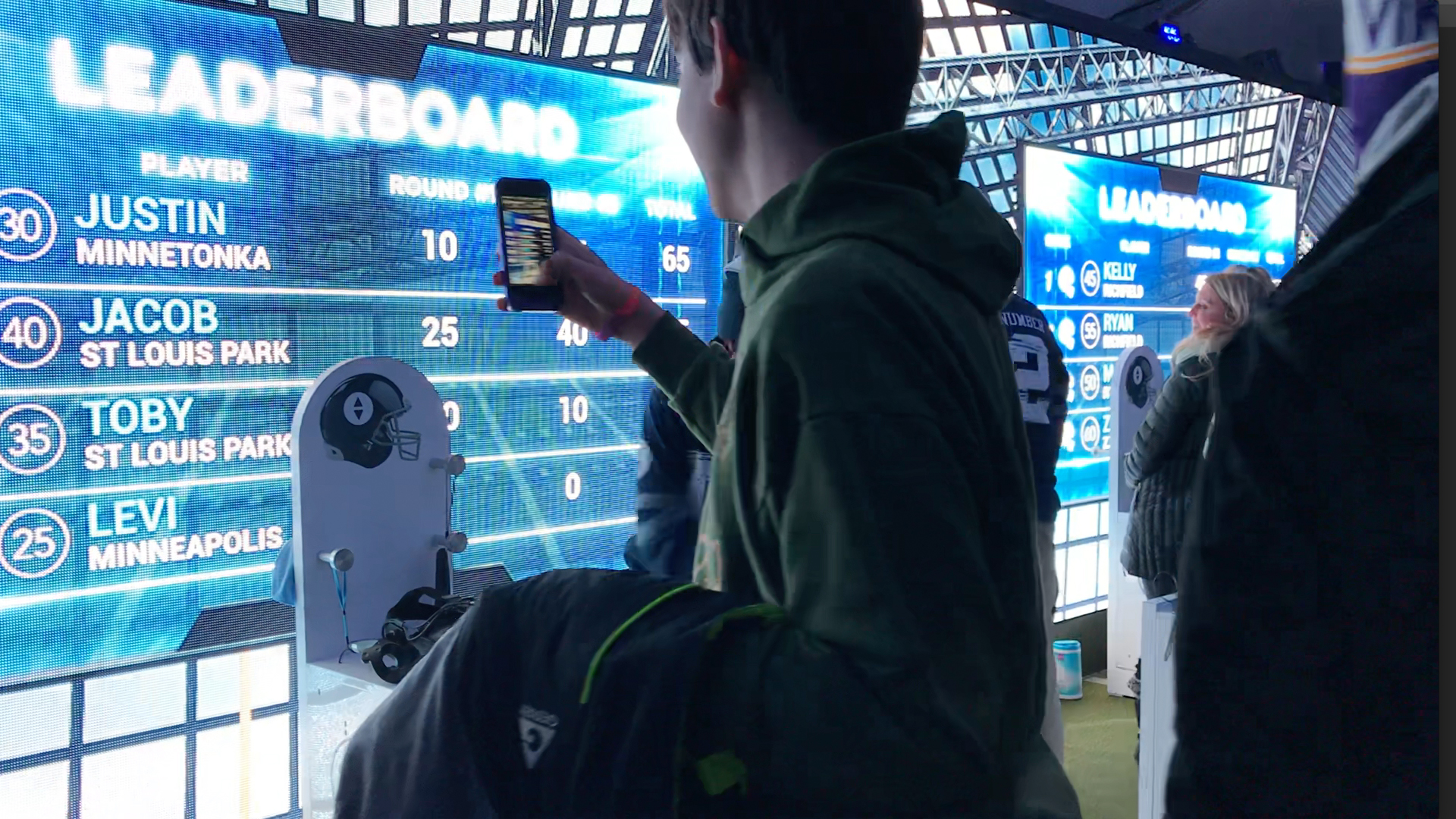 football Sport VR Experiential marketing