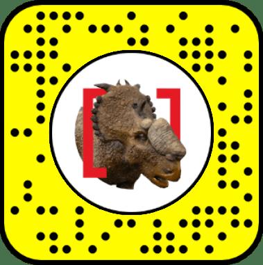 Snapchat Snapcode AR Lens Perot Museum
