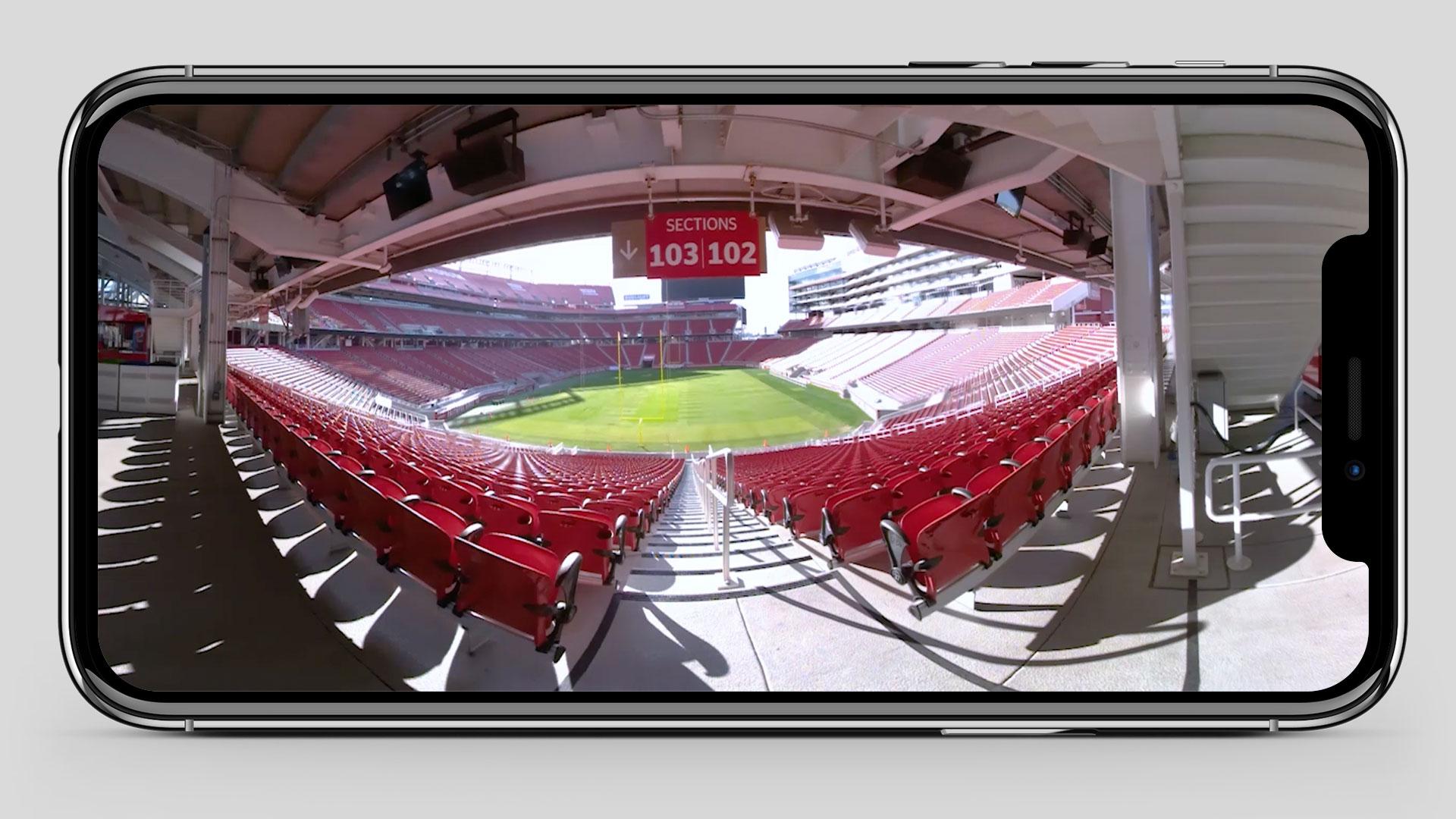 Levi's Stadium VR Tour