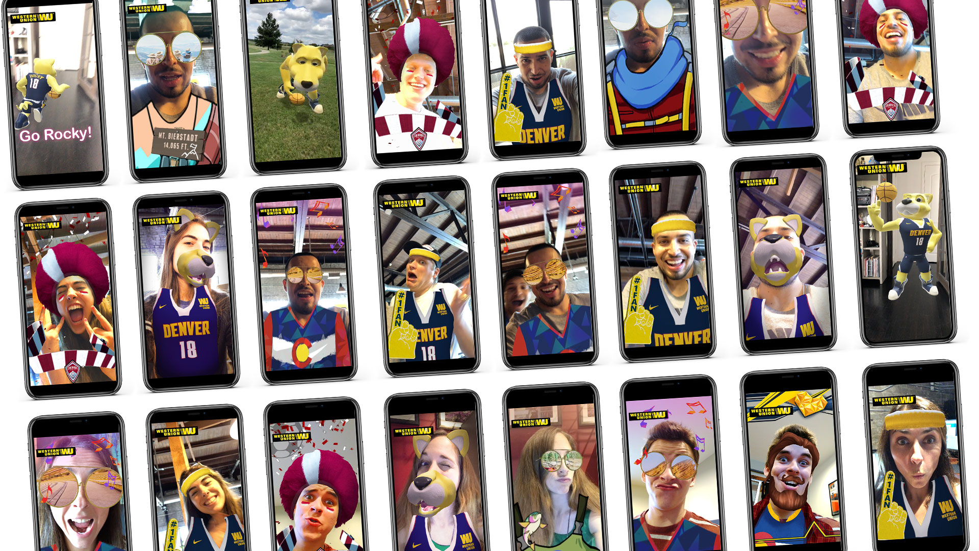 Snapchat Facebook AR Social Filters Lenses Marketing
