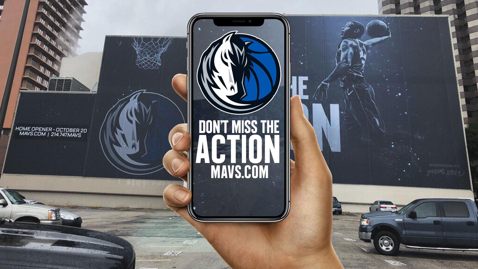 Dallas Mavs Facebook AR Filter