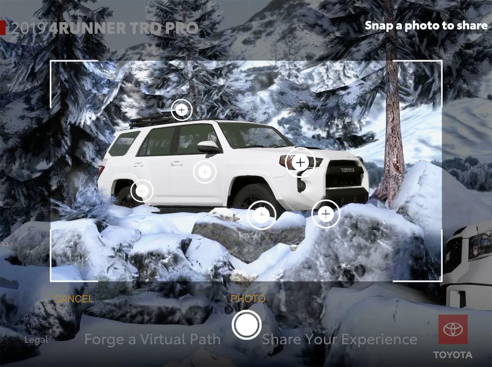 Toyota Social Share AR