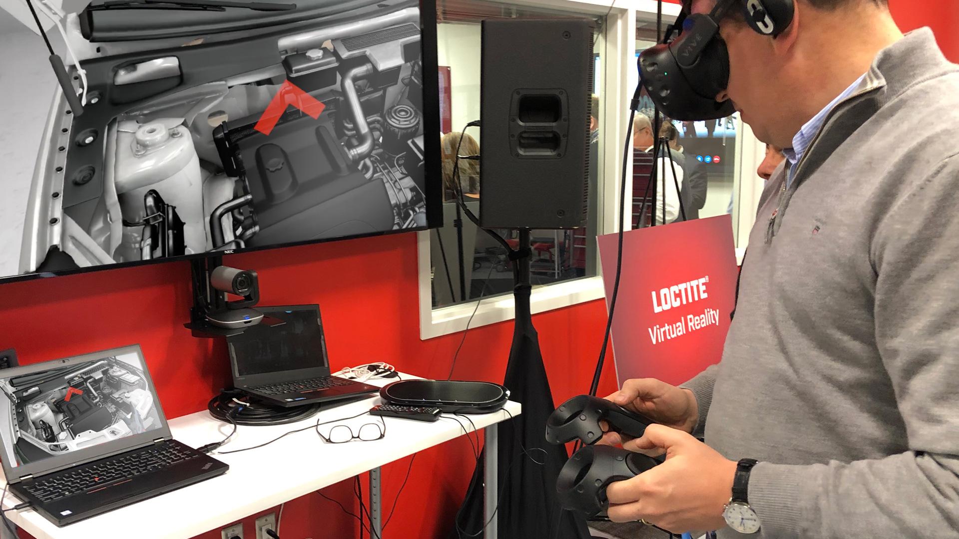 Henkel Loctite automotive VR Training