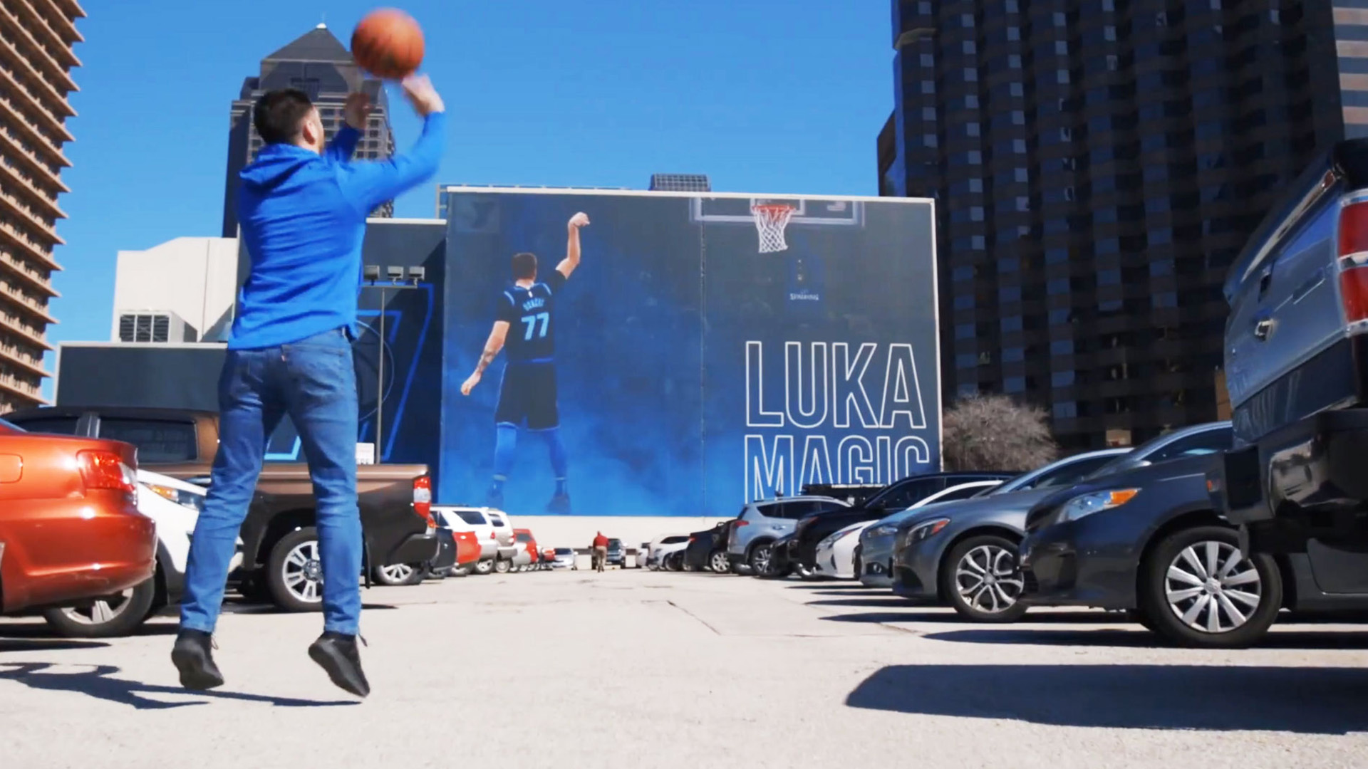 Luka Mavs AR Augmented Reality Dallas Mavericks