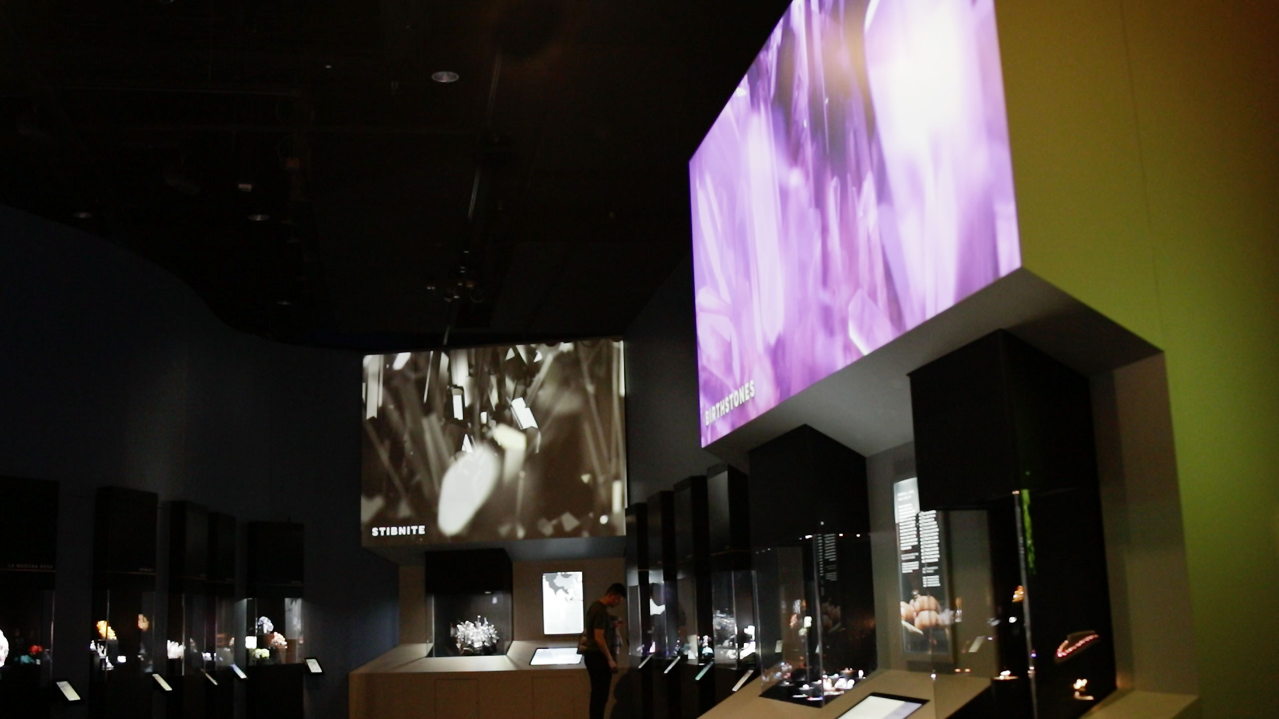 Perot Museum Gems and Minerals