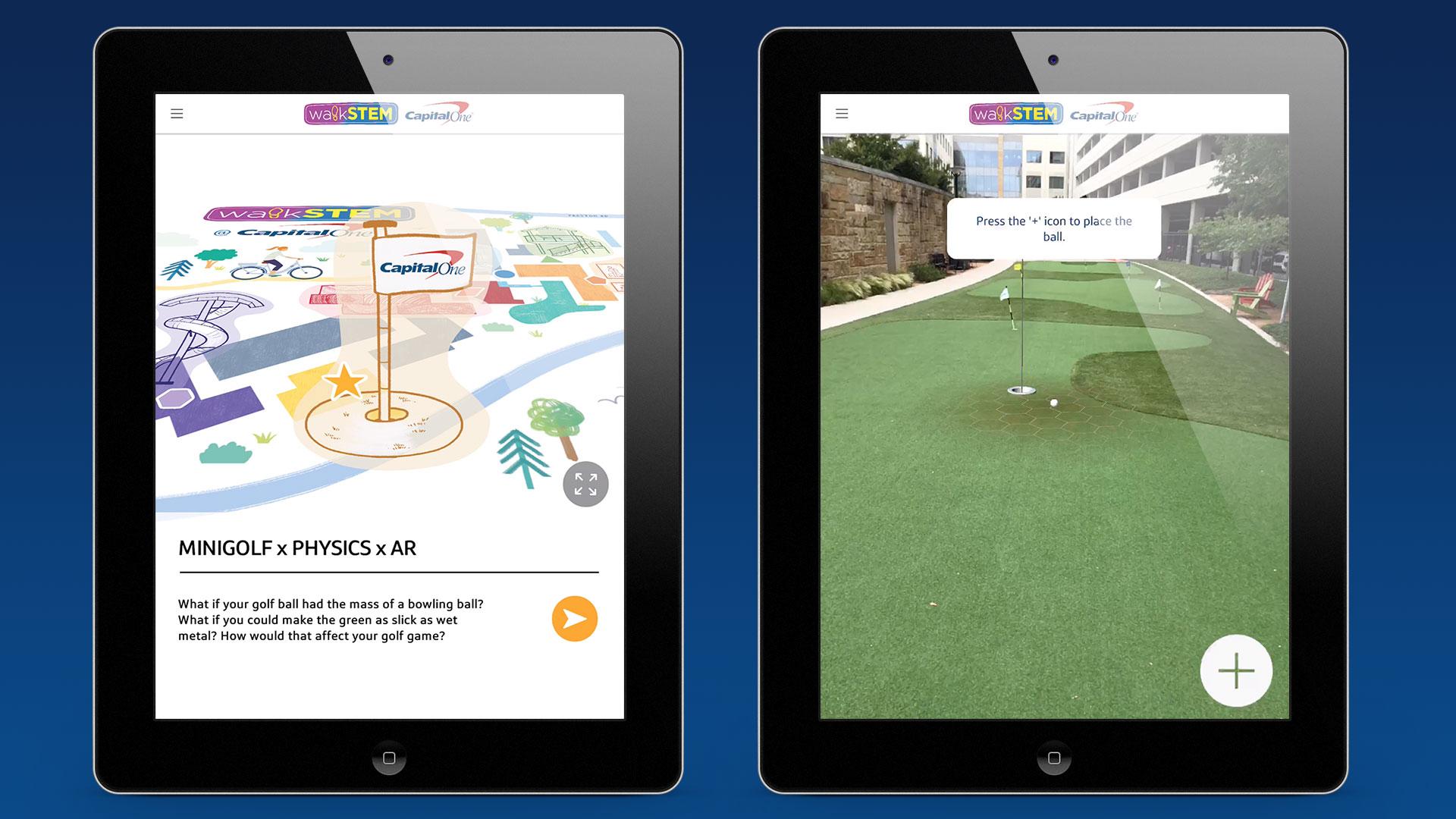 AR Golf App