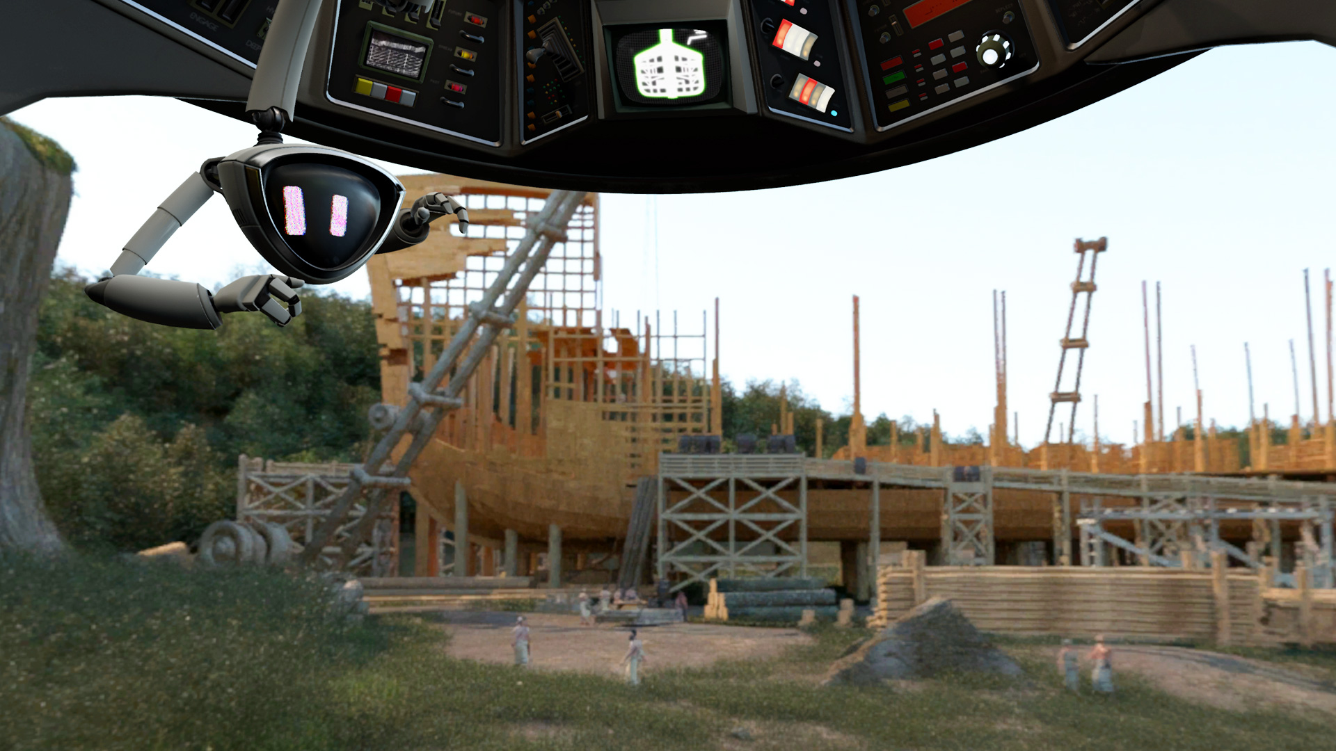 Virtual Reality Ark