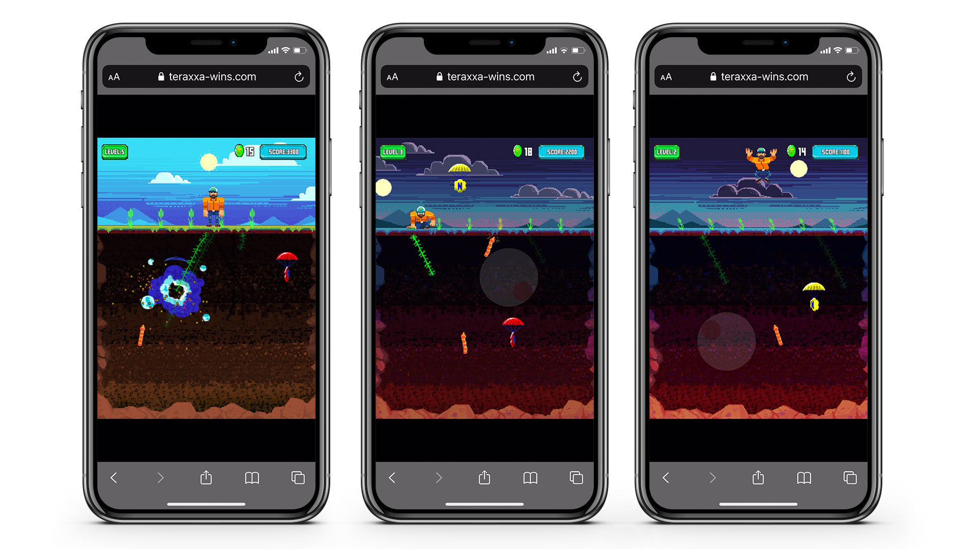 mobile web game