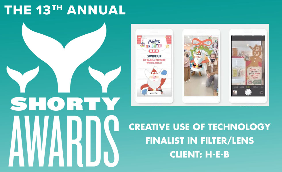Shorty Award Creative Use of Technology