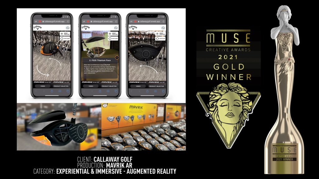 award winning augmented reality