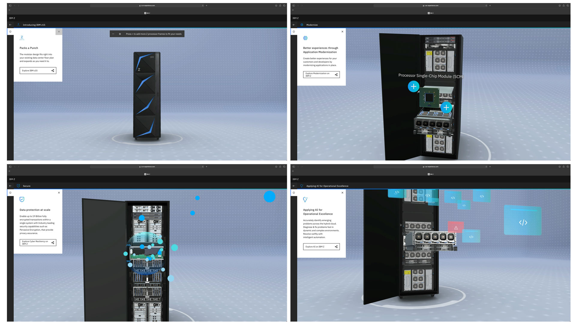 IBM Z WebGL